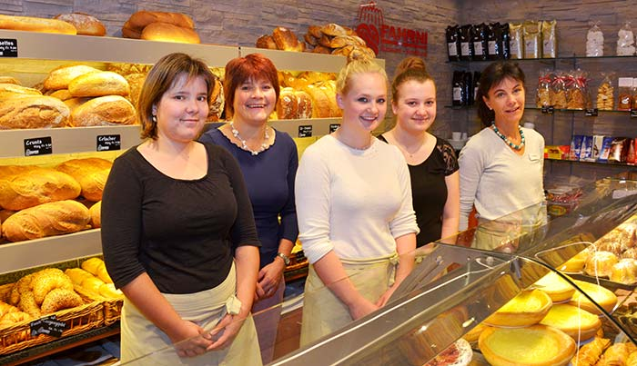 Bäckerei Fahrni Belp Ladenteam